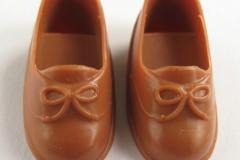 Fleur shoes Z bow brown