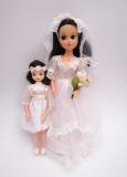 a Fleur doll Brides Happiness brunette