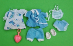 Fleur Baby outfit A