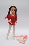 a Fleur doll b Aerobic