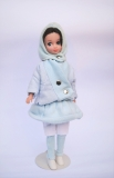 a Fleur doll Snow Fun