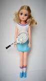 a Fleur doll Tennis