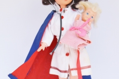 a Fleur doll Baby Nurse with baby