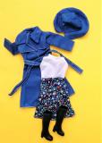 Fleur outfit doll Rainy Days doll blue