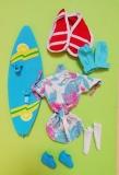 Fleur outfit doll Beach