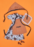 Fleur outfit 1218 Kitchen, no mittins
