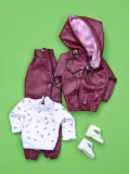 Fleur outfit 1260, with variation shirt