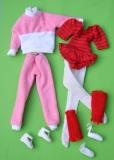 Fleur outfit doll Aerobic
