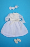 Fleur outfit doll Bridesmaid doll, with head scsarf