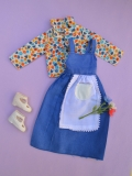 Fleur outfit doll Flower doll