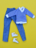 Fleur outfit doll Jeans doll