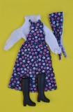 Fleur outfit doll Standard blue
