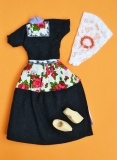 Fleur outfit doll Volendam doll