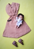 Fleur outfit doll Babysitter, with htf baby