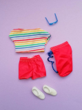 Heart Family outfit Beach Fashion