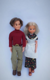 Sunshine Family dolls mom and dad