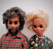 Sunshine Family dolls grandparents  AA 2