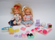 Heart Family doll baby lot