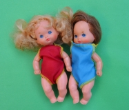 Heart Family doll baby twins