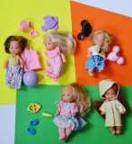 Heart Family doll baby lot Kindergarten Friends dolls, toddler Disney World Sunshine Fun pals, Cousin Honey