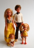 Sunshine Family dolls Family of four, flawless, complete VHTF
