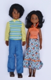 Sunshine Family dolls Happy Fun Family AA parents