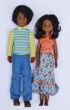 Sunshine Family dolls Happy Fun Family AA parents