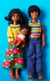 Sunshine Family dolls Happy Family,