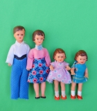 Dollhouse Lundby Ari dolls