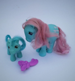 My Little Pony G1 Bow Tie and unknown Baby