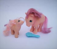 My Little Pony G1 Cotton Candy and Baby