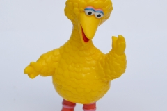 Sesame Street Big Bird pvc figure 3 inch 1990 by Benson Bulland