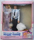 Barbie clone doll 1980s Happy Family 1