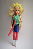 Barbie clone doll 1980s Rock Stars 1