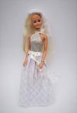 Barbie clone doll 1980s Susana silver blonde 1