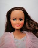 Barbie clone doll 1980s Susana pink evening dress 2