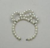 Tressy tiara jewelry pearl necklace