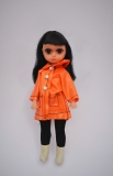 Susie Sad Eyes doll (pre Blythe) with rain coat