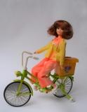 Cheri Yukko-Chan bicycle doll Tomy Takara (1973)