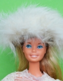 Barbie clone fur hat 2