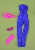 Jem outfit Makin Mischief, belt, one shoe, one sock