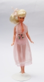 Plasty Peggy doll in original pink night gown
