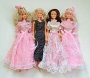 Barbie clone dolls 80s