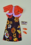Pippa outfit Madrid Collection • Lacy Luxury, purse, orange shoes, perfect, htf