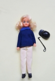 Pippa size Suky doll Horse Rider 1974 by Matchbox Lesney
