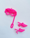 Sindy acc outfit 1995 Magic Eyes doll, shoes and mask