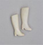 Sindy shoes htf boots 1984 white