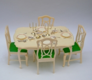 Sindy other play set furniture wardrobe table and chairs