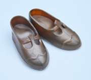 Sindy shoes htf 60s Mamselle gold Cinderella marked
