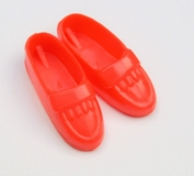 sindy shoes htf red loafers